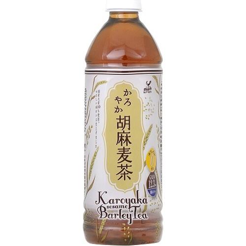 富永貿易 かろやか胡麻麦茶 P500ml