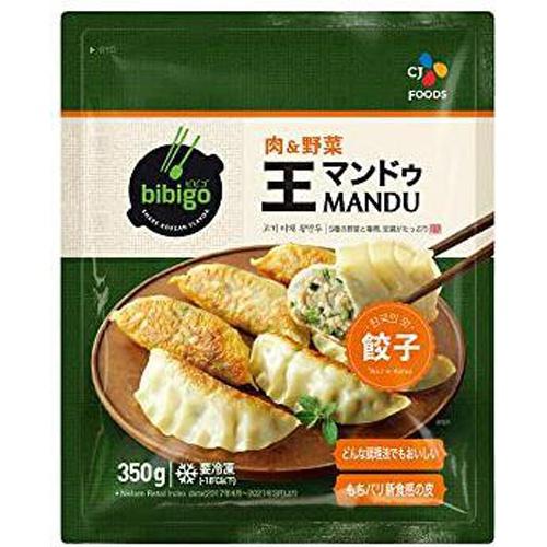 bibigo(冷)王餃子肉&野菜 350g